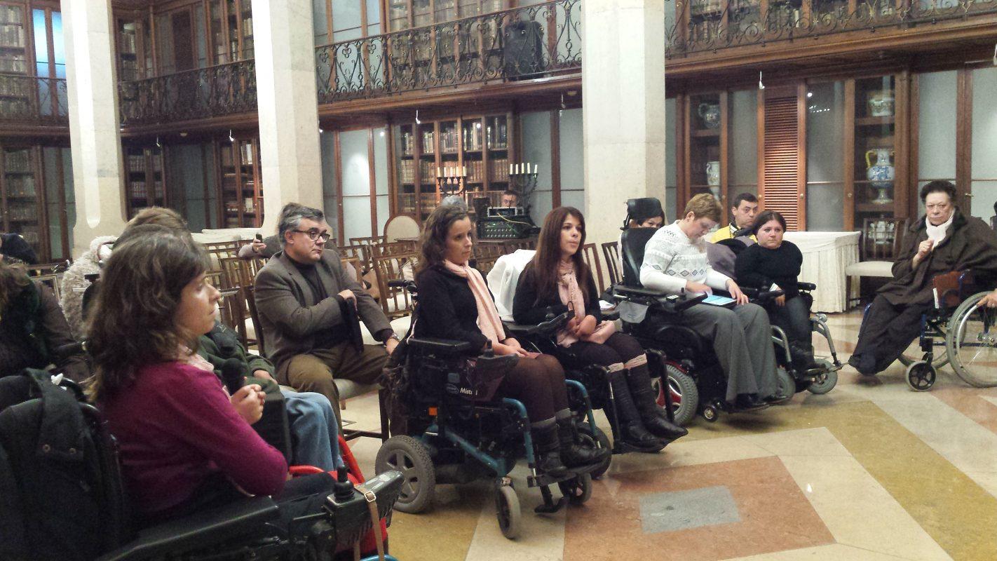 Final da reunião realizada a 23 de Janeiro nos Paços do Concelho