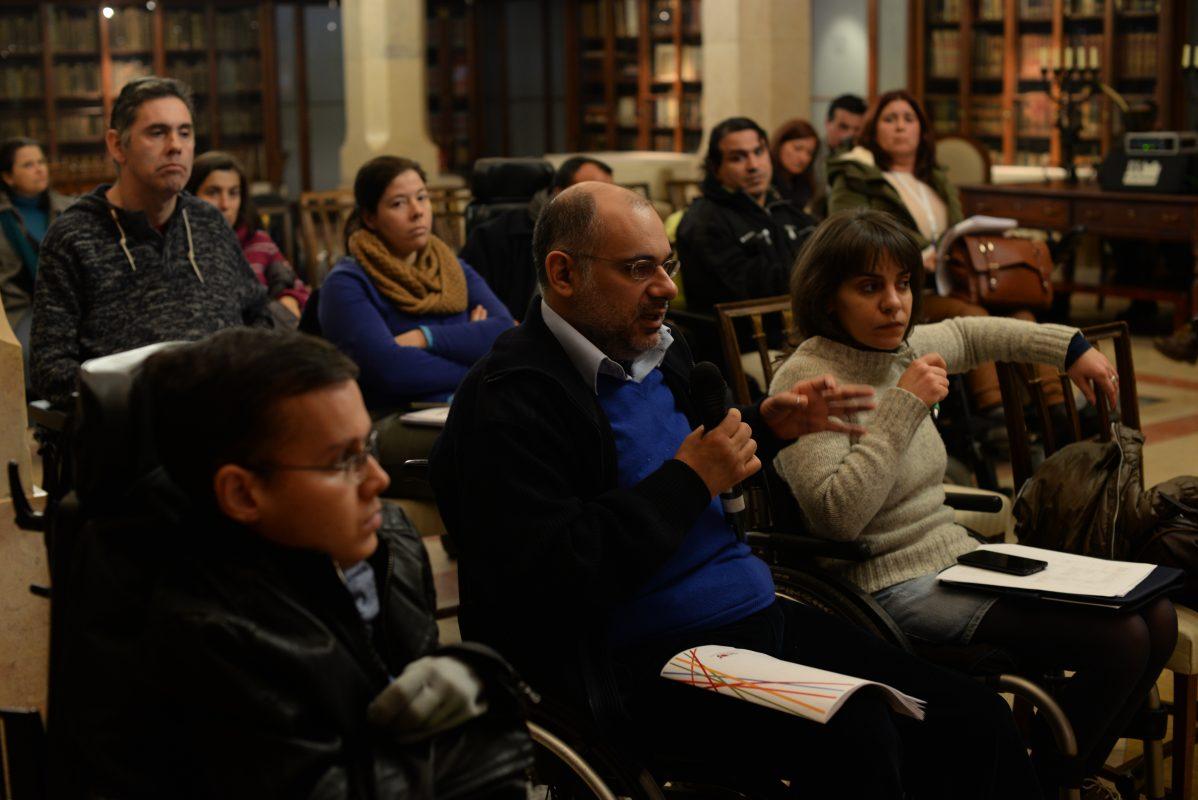 Primeira reunião de auscultação - Paços do Concelho- 10 de Janeiro 2015